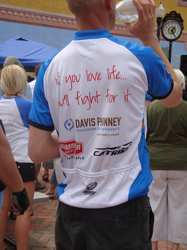 Ride with Larry Jersey | by Davis Phinney Foundation
