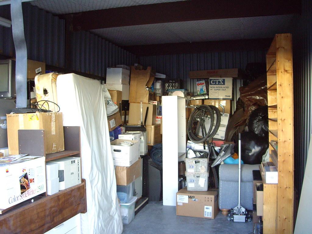 ... jarrodlombardo Storage unit as it became fuller | by jarrodlombardo & Storage unit as it became fuller | Jarrod Lombardo | Flickr