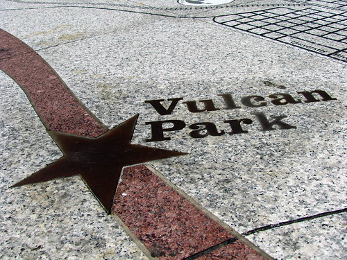 Vulcan Park floor-based map | by curtis palmer
