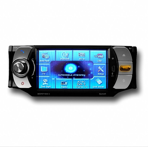 "DVD player + 4.3"" TFT LCD + Touch Screen + Bluetooth + RDS + TV 