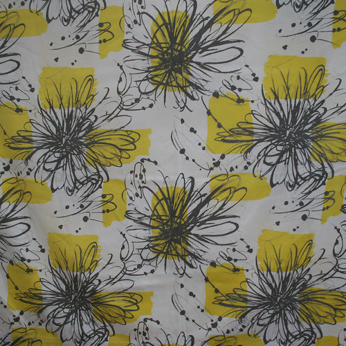 1950's Graphic Flower Vintage Fabric | by Something Fine