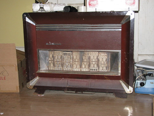 Vintage Living Room Gas Heater One In The Kitchen One