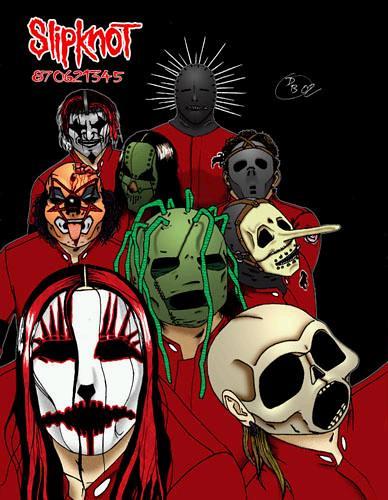 Slipknot Cartoon | Graffiti And Cartoon Wallpaper