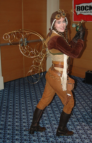 Steampunk Fairy - Dragoncon 2008 | by helix90