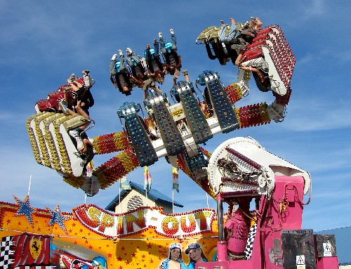 Spin-Out Carnival Ride...