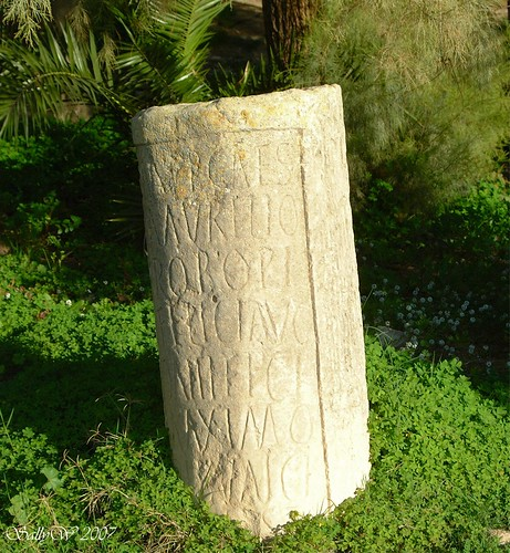 inscribed stone, carthage | by sallycat101