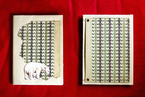 polar bear journal/notebook | by misspaq