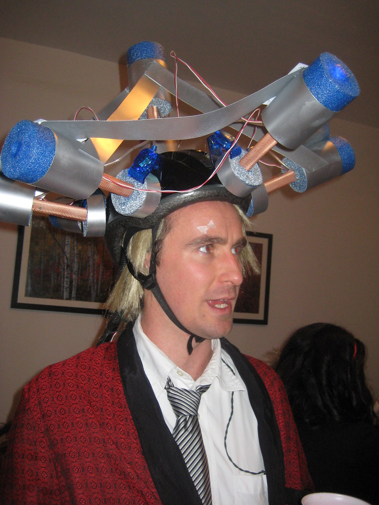 halloween 2008 - doc brown (back to the future, people!) =… | flickr