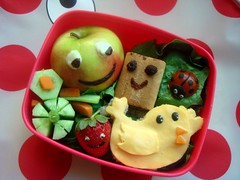 Smiley toddler bento | by Bento Mommy
