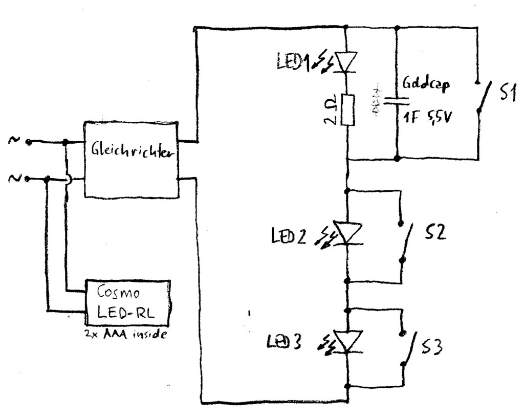 DIY-LED-Beleuchtung Schaltplan | Der während der Testphase v… | Flickr