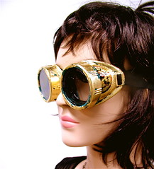 Time Lord Steampunk Goggles II | by MadArtjewelry