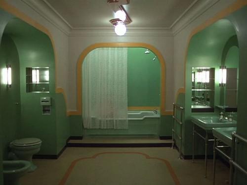 The Shining Room 237 bathroom | Art deco bathroom from The S… | Flickr