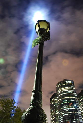 Light Beam and Lamp Post | by chuckyeager