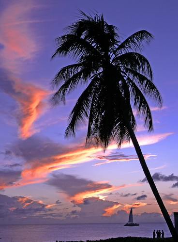 Sint Maarten Sunset | by CristalArt
