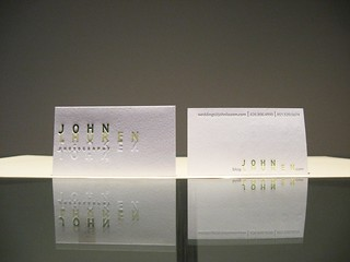 John Lauren Photography Letterpress Cards | by dolcepress