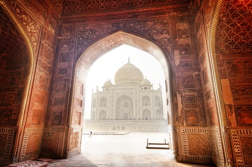 The Taj, Framed | by Trey Ratcliff