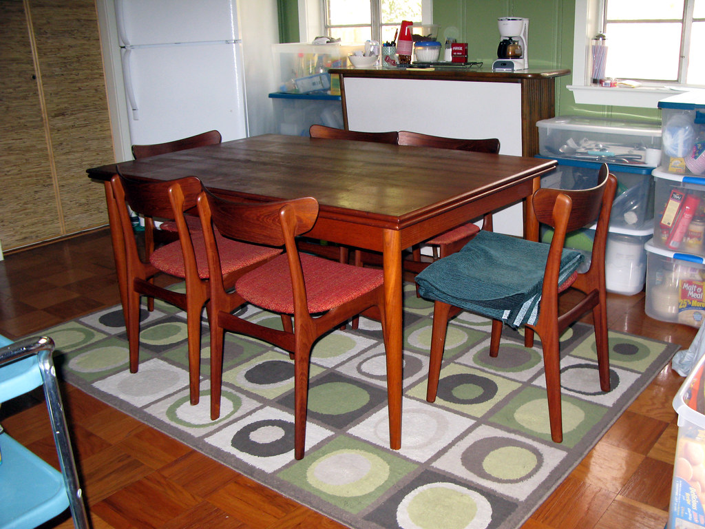 Danish Modern Dining Room Set Schionning And Elgaard Mad Flickr