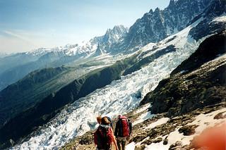 ascension du mont blanc jour 3 redescente des grands mul flickr
