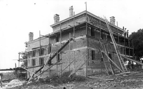 Construction of the second Leon County jail | by State Library and Archives of Florida
