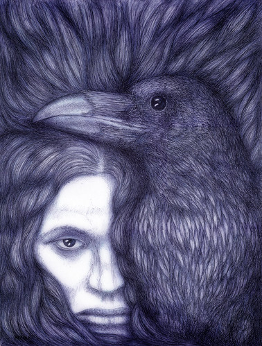 The raven told me | by Herbert Kuipers