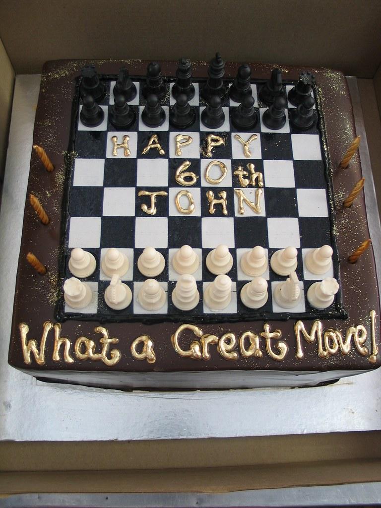 Chess Birthday Cake Charlys Bakery Flickr