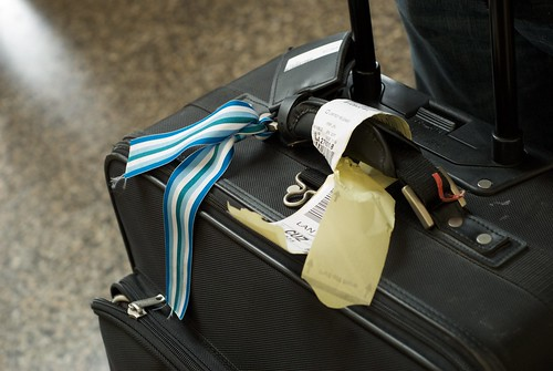 jin's pretty luggage ribbon | by Fatty Tuna