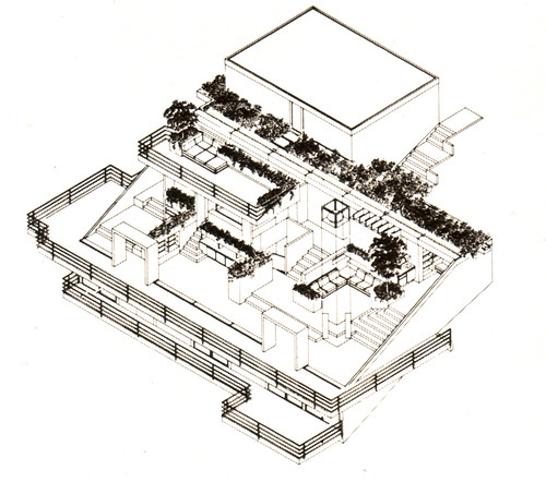 3d Floor Plan Isometric: The House Is Designed As A Series