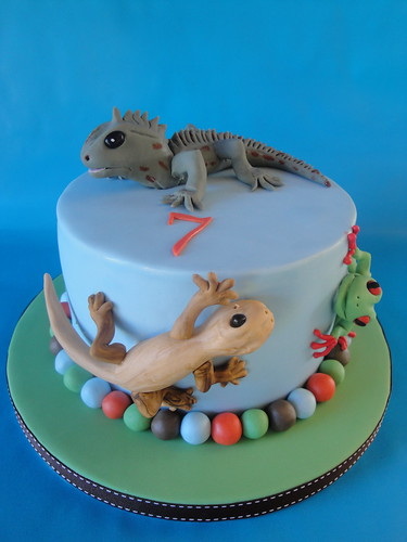 Reptile Cake This Cake Was Made For My Gorgeous Nephew