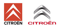 Citroën logo - Rebrand - Old and New | by Matt Hamm