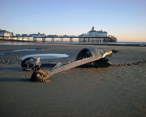Eastbourne Air Show >> delfin L29 | this L29 delfin jet crashed just off shore duri… | Flickr
