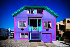 Very colorful house in San Francisco | by davidyuweb