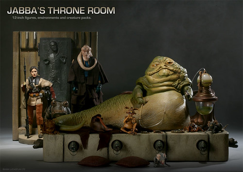 Jabba Throne Room Photo Shoot Together At Last Han In