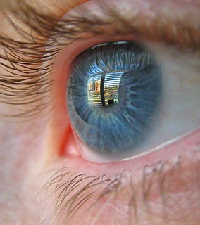 Eye Reflection | by J. Sibiga Photography