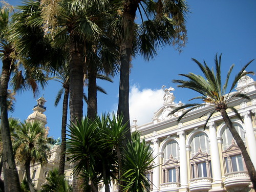 Casino Monte Carlo & Palm Trees | by ChrisGoldNY