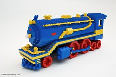 "LEGO train from ""30 Rock"" 