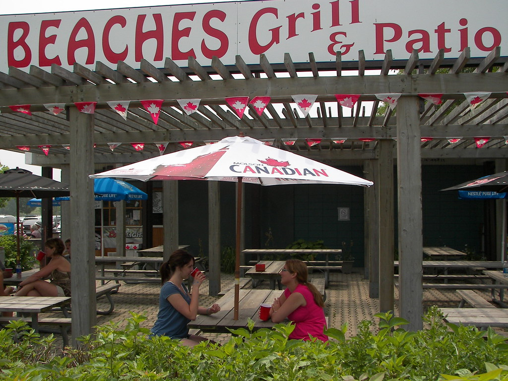 ... Beaches Grill And Patio | By Hamilton Conservation Authority