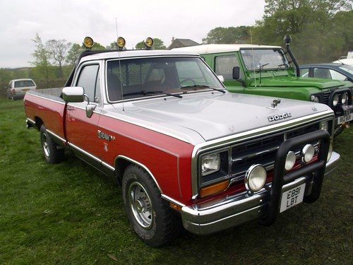 dodge ram v8 pick up trucks 1978 dodge ram v8 pick up tr flickr. Black Bedroom Furniture Sets. Home Design Ideas