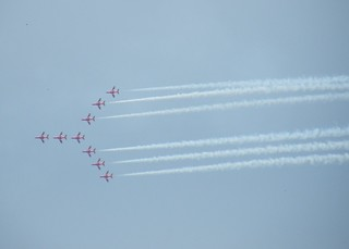 Red Arrows at Biggin Hill | by Dave H's Photos