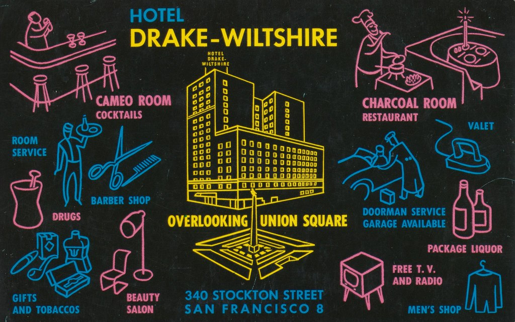 Hotel Drake - Wiltshire - San Francisco, California