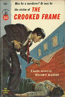 William P McGivern - The Crooked Frame (Pocket Book 961) | by vintagepaperbacks