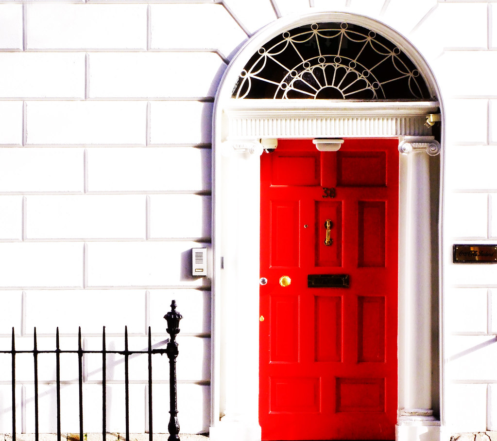 ... Red door | by Steve-h & Red door | REPOST A pretty Georgian door in Dublin city centu2026 | Flickr