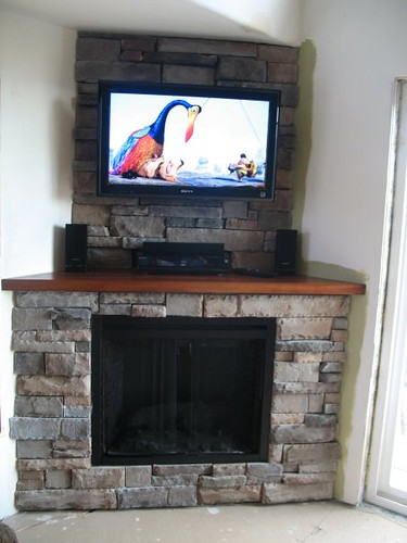 """Living Room With Fireplace: Classic Flame 39"""" Built In Electric Firebox"""