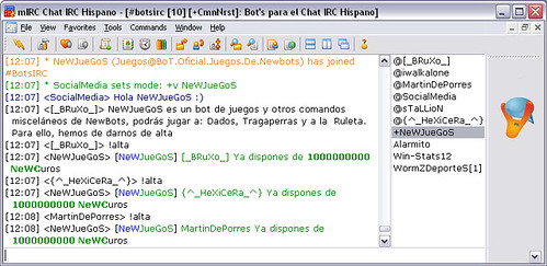 chat irc movil