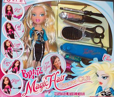 bratz hair styling bratz magic hair grow cloe kani lara flickr 3527