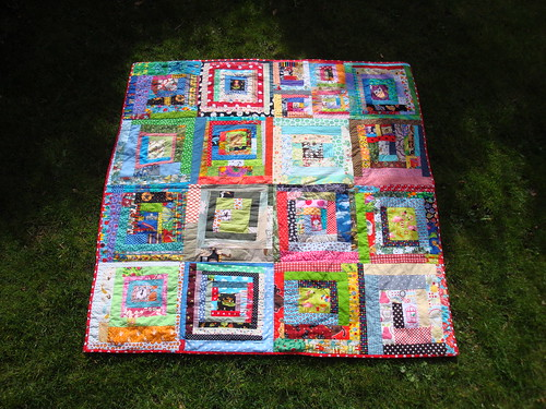 the picnic quilt - all done! | by ImAGingerMonkey