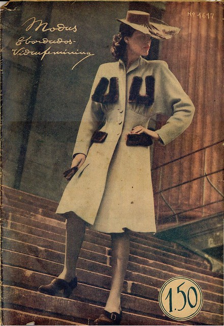 Modas e Bordados, No. 1617, February 1943 - cover