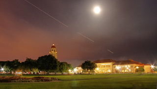 Full Moon over Stanford | by Jill Clardy