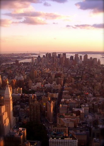 By Fabiwa IPhone Wallpaper NYC View From Empire State Bldg