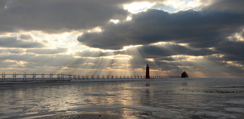 Your Average Grand Haven Sunset | by Second Glance Photos Kevin Ryan