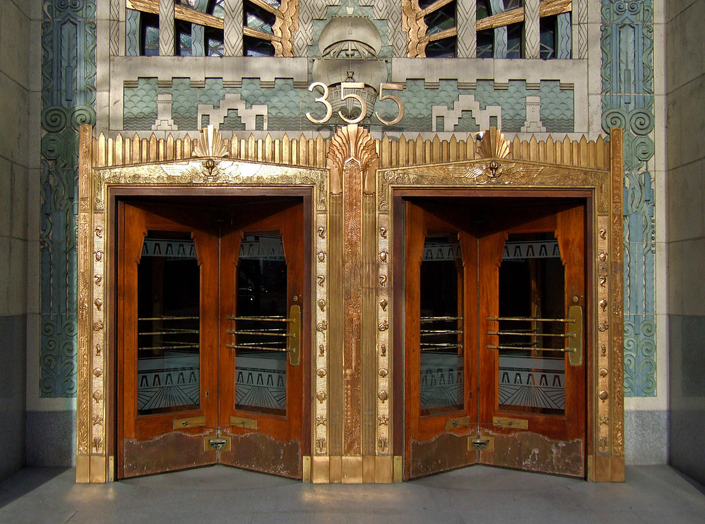 Art Deco Marine Building Vancouver The Marine Building Flickr